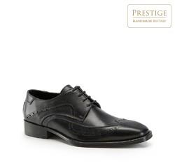 Männer Schuhe, schwarz, 82-M-055-1-44, Bild 1