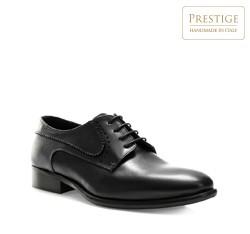 Männer Schuhe, schwarz, 84-M-053-1-39, Bild 1