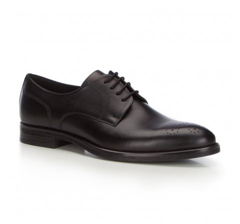 Männer Schuhe, schwarz, 87-M-602-1-44, Bild 1