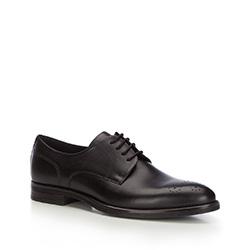 Männer Schuhe, schwarz, 87-M-602-1-45, Bild 1