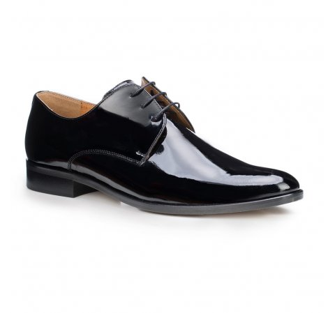 Männer Schuhe, schwarz, 87-M-703-2-44, Bild 1