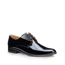 Männer Schuhe, schwarz, 87-M-703-1-43, Bild 1