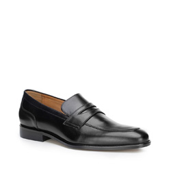 Männer Schuhe, schwarz, 87-M-704-1-43, Bild 1