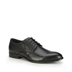 Männer Schuhe, schwarz, 87-M-902-1-44, Bild 1