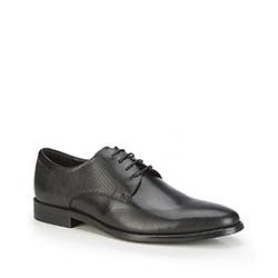 Männer Schuhe, schwarz, 87-M-908-1-43, Bild 1