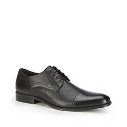 Männer Schuhe, schwarz, 87-M-909-1-43, Bild 1