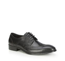 Männer Schuhe, schwarz, 87-M-913-1-45, Bild 1