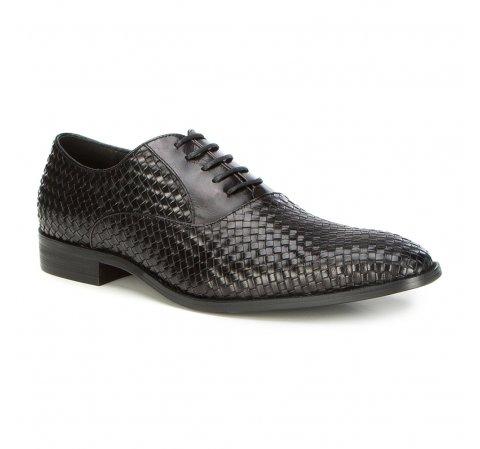 Männer Schuhe, schwarz, 87-M-916-1-44, Bild 1