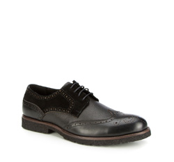 Männer Schuhe, schwarz, 87-M-919-1-40, Bild 1