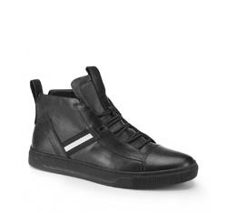 Männer Schuhe, schwarz, 87-M-932-1-44, Bild 1