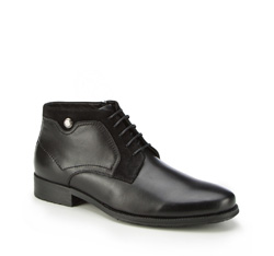 Männer Schuhe, schwarz, 87-M-934-1-43, Bild 1