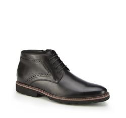 Männer Schuhe, schwarz, 87-M-938-1-45, Bild 1