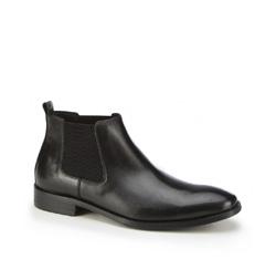 Männer Schuhe, schwarz, 87-M-942-1-43, Bild 1