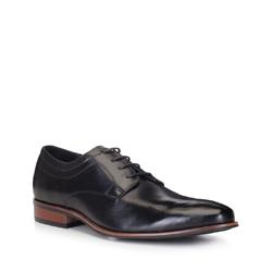 Männer Schuhe, schwarz, 88-M-504-1-41, Bild 1