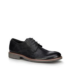 Männer Schuhe, schwarz, 88-M-805-1-43, Bild 1