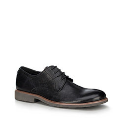 Männer Schuhe, schwarz, 88-M-805-1-44, Bild 1