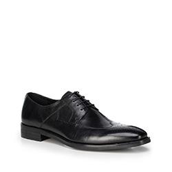 Männer Schuhe, schwarz, 88-M-810-1-45, Bild 1