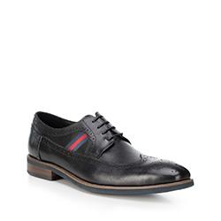 Männer Schuhe, schwarz, 88-M-811-1-43, Bild 1