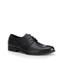 Männer Schuhe, schwarz, 88-M-814-1-45, Bild 1