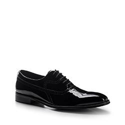 Männer Schuhe, schwarz, 88-M-815-1-45, Bild 1