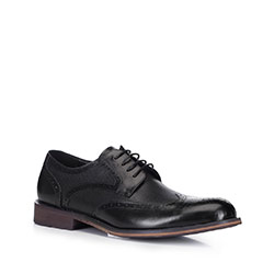 Männer Schuhe, schwarz, 88-M-928-1-39, Bild 1