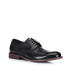 Männer Schuhe, schwarz, 88-M-928-1-43, Bild 1