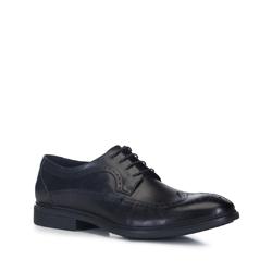 Männer Schuhe, schwarz, 88-M-933-1-43, Bild 1