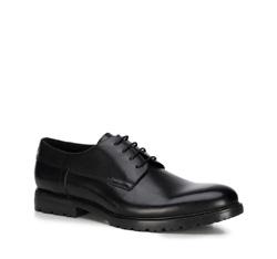 Herrenschuhe, schwarz, 89-M-500-1-42, Bild 1