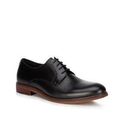 Männer Schuhe, schwarz, 89-M-501-1-39, Bild 1
