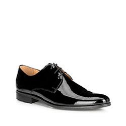 Herrenschuhe, schwarz, 89-M-701-1-43, Bild 1
