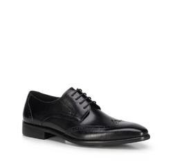 Männer Schuhe, schwarz, 89-M-904-1-45, Bild 1