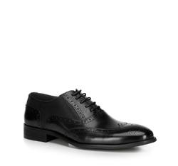 Männer Schuhe, schwarz, 89-M-906-1-45, Bild 1