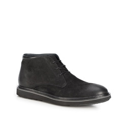 Herrenschuhe, schwarz, 89-M-910-1-42, Bild 1