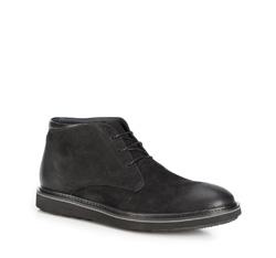 Männer Schuhe, schwarz, 89-M-910-1-45, Bild 1
