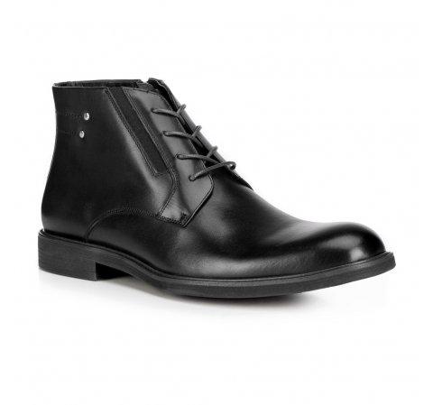 Herrenschuhe, schwarz, 89-M-912-2-45, Bild 1