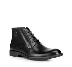 Männer Schuhe, schwarz, 89-M-912-1-45, Bild 1