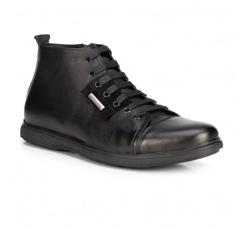 Herrenschuhe, schwarz, 89-M-918-1-43, Bild 1