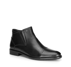 Herrenschuhe, schwarz, 89-M-919-1-45, Bild 1