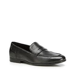 Herrenschuhe, schwarz, 90-M-518-1-45, Bild 1