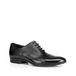 Herrenschuhe, schwarz, 90-M-600-1-44, Bild 1