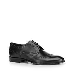 Herrenschuhe, schwarz, 90-M-601-1-43, Bild 1