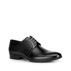 Herrenschuhe, schwarz, 90-M-602-1-43, Bild 1