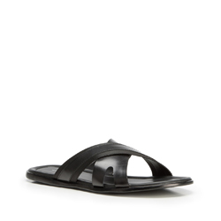 Herrenschuhe, schwarz, 90-M-918-1-43, Bild 1