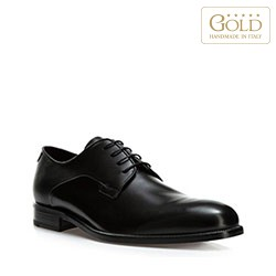 Männer Schuhe, schwarz, BM-B-579-1-44, Bild 1