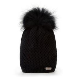 Mütze für Frauen, schwarz, 87-HF-002-1, Bild 1
