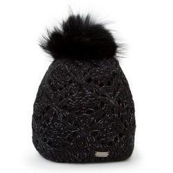 Mütze für Frauen, schwarz, 87-HF-004-1, Bild 1