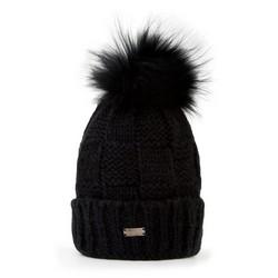Mütze für Frauen, schwarz, 87-HF-006-1, Bild 1