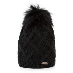 Mütze für Frauen, schwarz, 87-HF-020-1, Bild 1