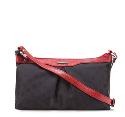 Damentasche, schwarz-rot, 85-4E-917-13J, Bild 1