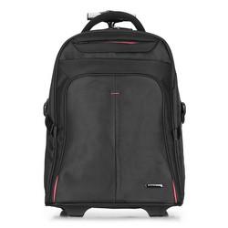 Rucksack, schwarz-rot, 56-3S-630-13, Bild 1